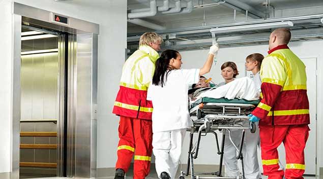 مصعد مستشفى